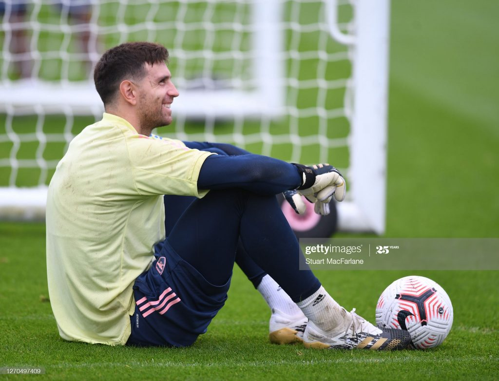 Arsenal shows first sign of Emiliano Martinez departure 1