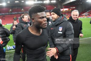 Atletico Madrid respond to Arsenal two-players-for-Thomas Partey offer