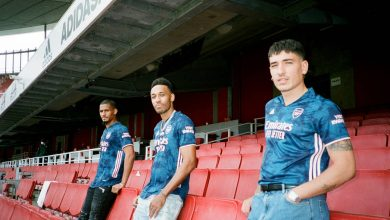 Photos Arsenal new third kit as stars pose in a behind-the-scene shoot 1