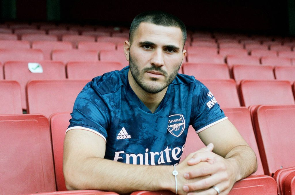 Photos Arsenal new third kit as stars pose in a behind-the-scene shoot 9